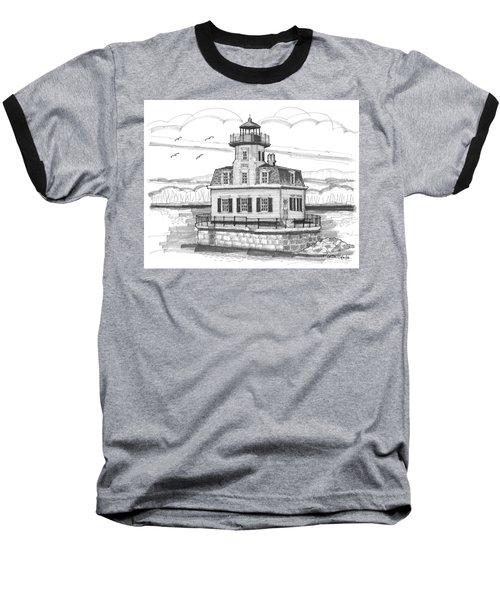 Esopus Meadows Lighthouse Baseball T-Shirt