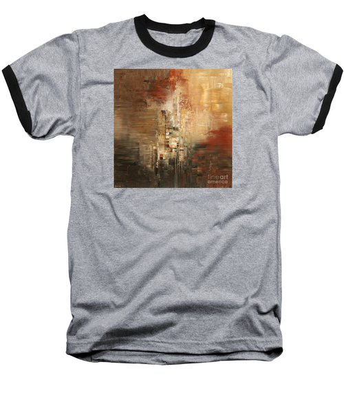 Baseball T-Shirt featuring the painting Essential Connection by Tatiana Iliina