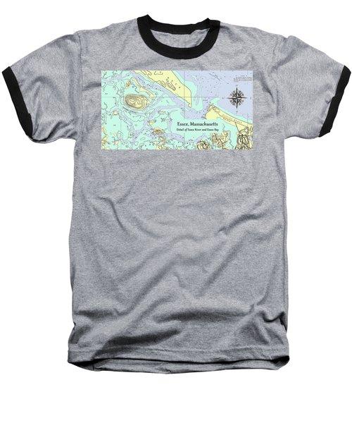 Essex River Detail Baseball T-Shirt