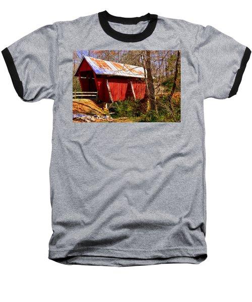Est. 1909 Campbell's Covered Bridge Baseball T-Shirt