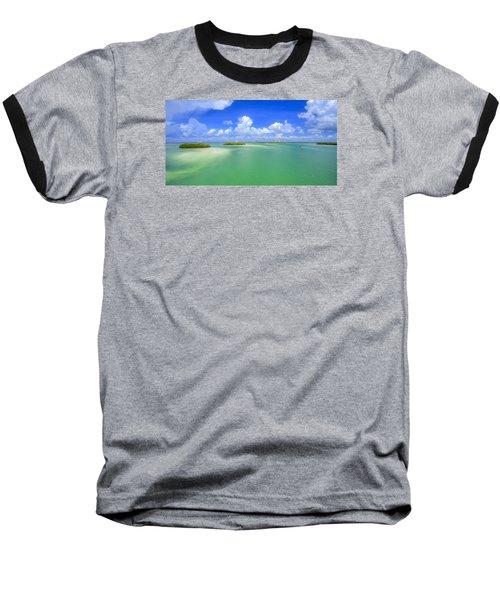 Estero Bay Baseball T-Shirt by Sean Allen