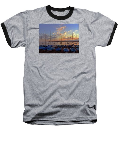 Baseball T-Shirt featuring the photograph Estuary Evening by Anne Kotan