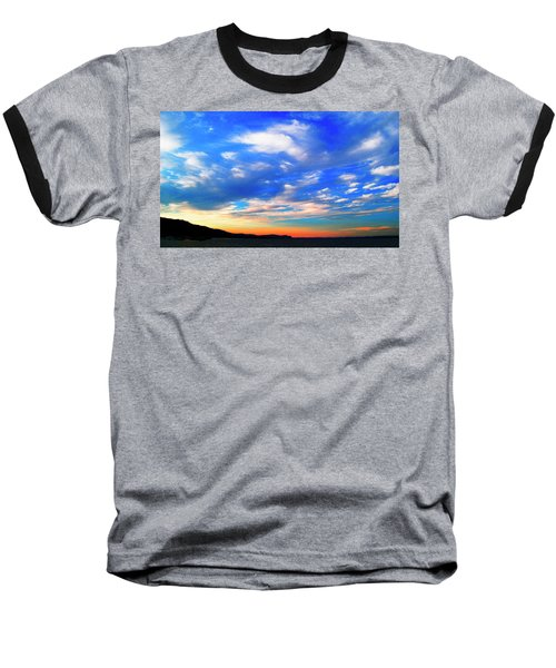 Estuary Skyscape Baseball T-Shirt