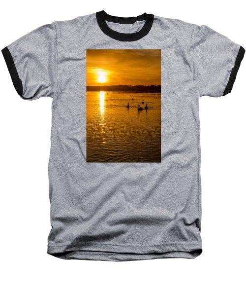 Estuary Sunset Baseball T-Shirt