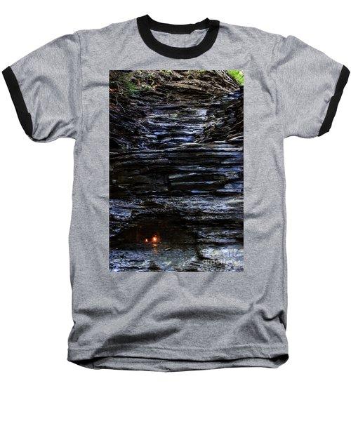 Eternal Flame Falls Baseball T-Shirt