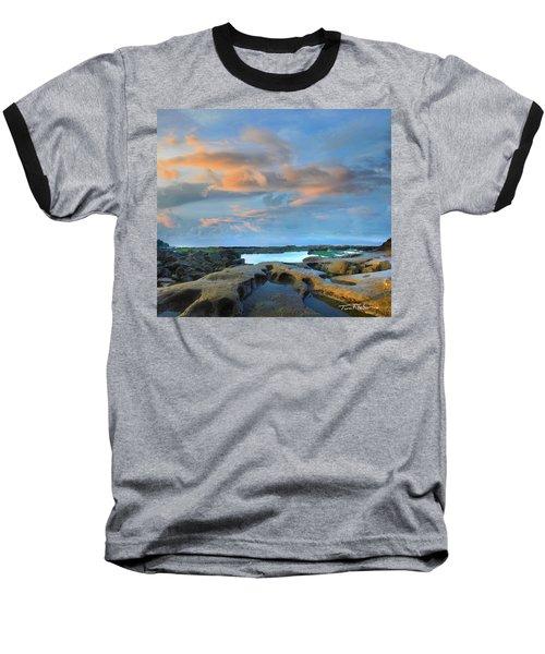 Eternal Soul Baseball T-Shirt by Tim Fitzharris