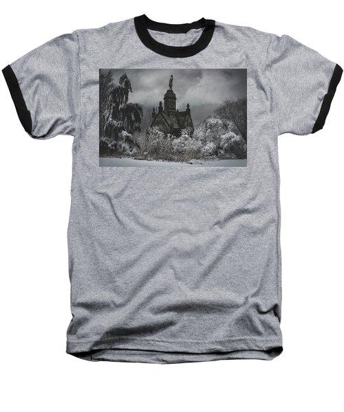 Baseball T-Shirt featuring the digital art Eternal Winter by Chris Lord