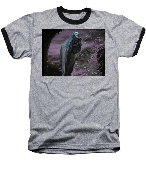 Eternity Baseball T-Shirt by Lyric Lucas
