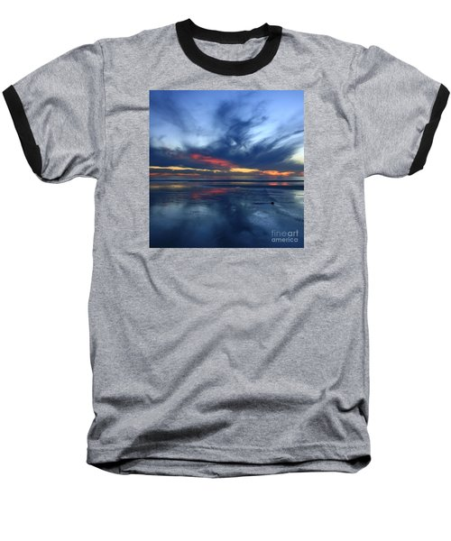 Ethereal Beach Blues Baseball T-Shirt