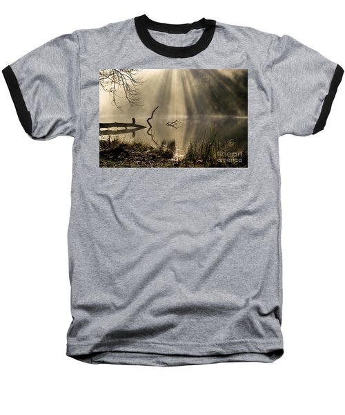 Baseball T-Shirt featuring the photograph Ethereal - D009972 by Daniel Dempster