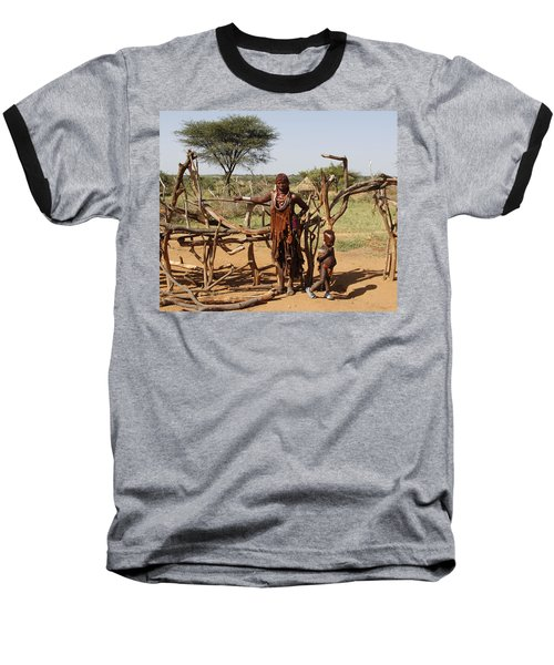 Ethiopia-south Mother And Baby No.2 Baseball T-Shirt