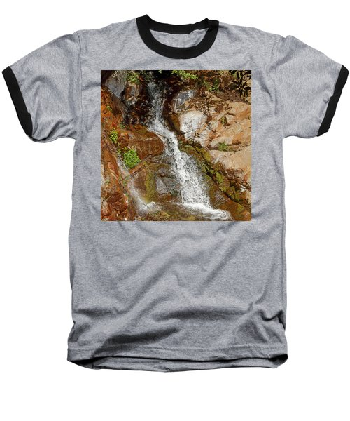 Etiwanda Waterfalls Baseball T-Shirt