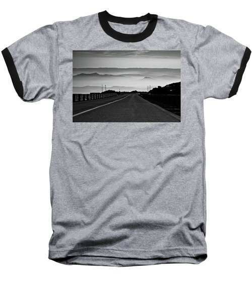 Baseball T-Shirt featuring the photograph Etna Road by Bruno Spagnolo