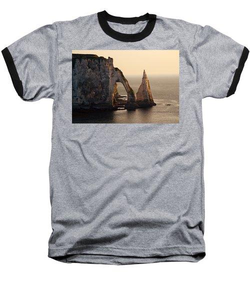 Etretat In Morning Sun Baseball T-Shirt