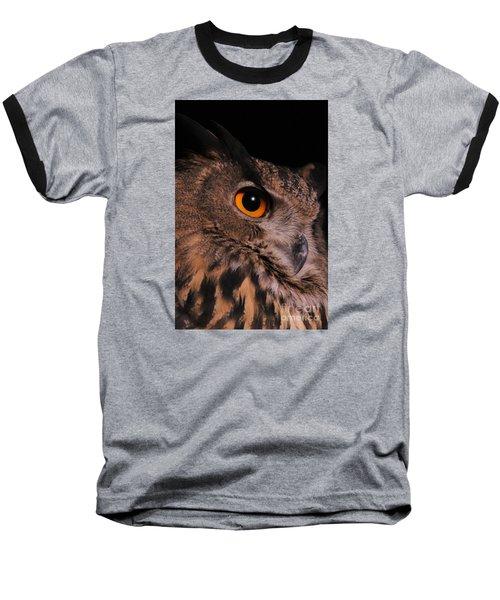Eurasian Eagle-owl Baseball T-Shirt