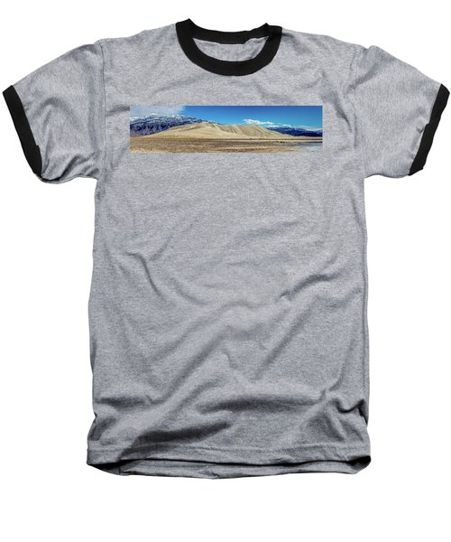 Baseball T-Shirt featuring the photograph Eureka Dunes - Death Valley by Peter Tellone