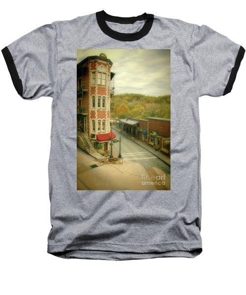 Baseball T-Shirt featuring the photograph Eureka Springs by Jill Battaglia