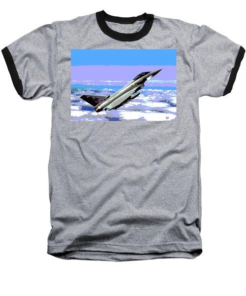 Eurofighter Typhoon Baseball T-Shirt by Charles Shoup