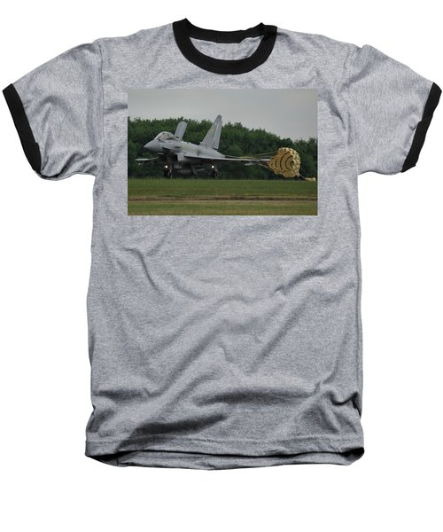 Eurofighter Typhoon Fgr4 Baseball T-Shirt by Tim Beach