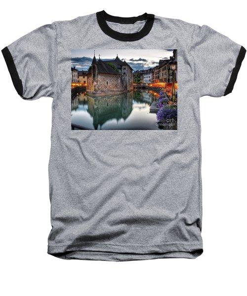 European Beauty 2 Baseball T-Shirt
