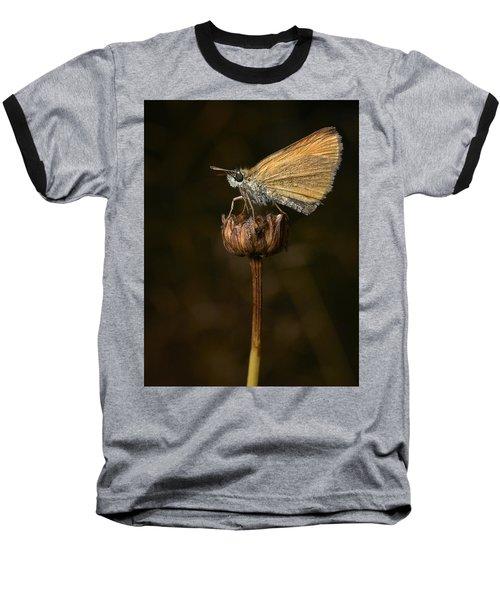 Baseball T-Shirt featuring the photograph European Skipper by Jouko Lehto