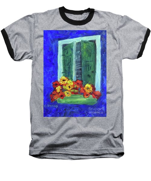 European Window Box Baseball T-Shirt