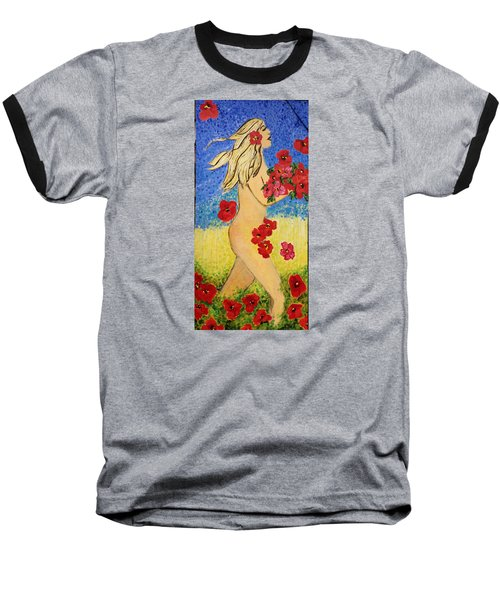Eve Before The Fall Baseball T-Shirt