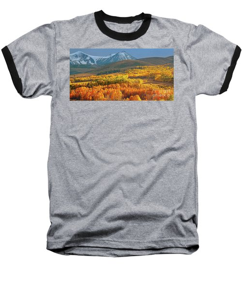 Evening Aspen Baseball T-Shirt