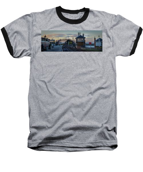 Evening At Bo'ness Station Baseball T-Shirt