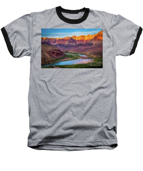 Evening At Cardenas Baseball T-Shirt