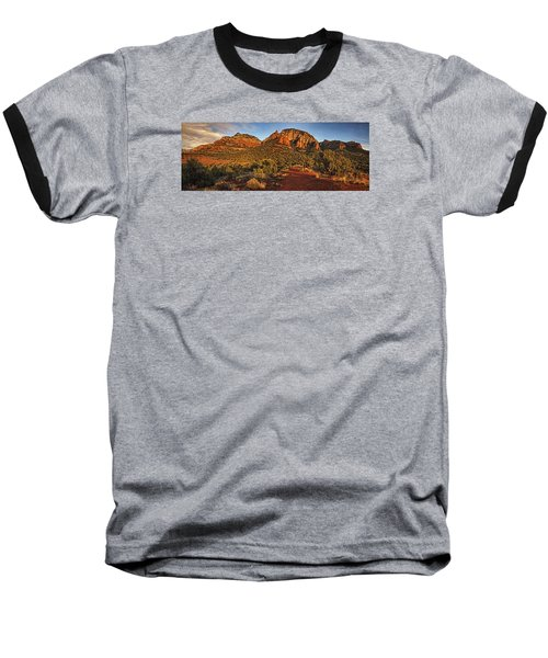 Evening At Dry Creek Vista Txt Baseball T-Shirt