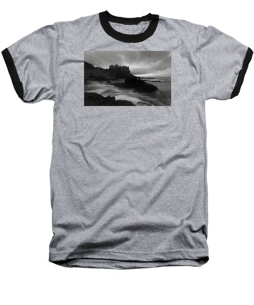 Evening At Dunluce Baseball T-Shirt by Roy  McPeak