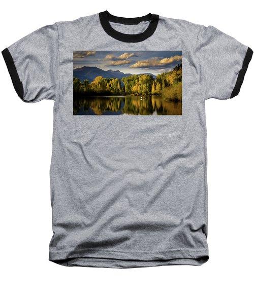Evening At Indian Springs Baseball T-Shirt