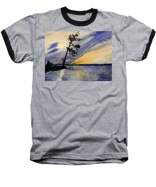 Evening At Petrie Island Baseball T-Shirt
