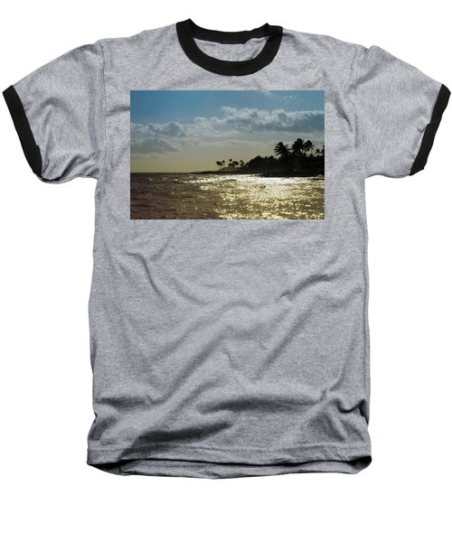 Evening At Poipiu Kauai Baseball T-Shirt
