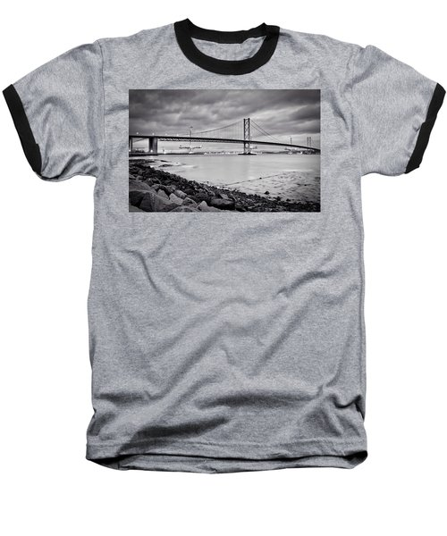 Evening At The Forth Road Bridges Baseball T-Shirt by RKAB Works
