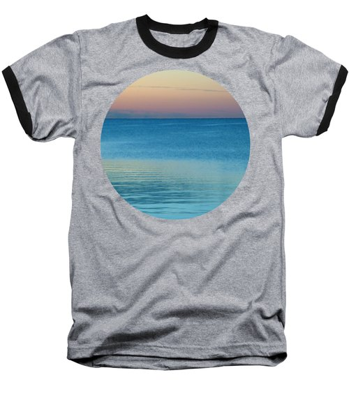 Evening At The Lake Baseball T-Shirt