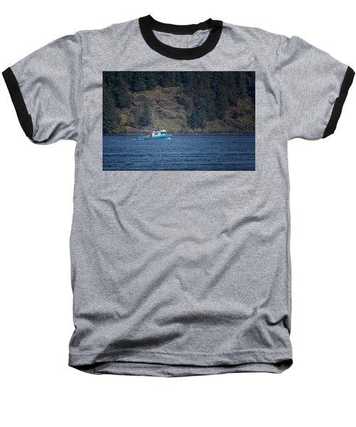 Evening Breeze Baseball T-Shirt by Randy Hall