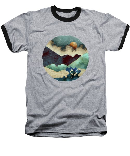 Evening Calm Baseball T-Shirt by Spacefrog Designs