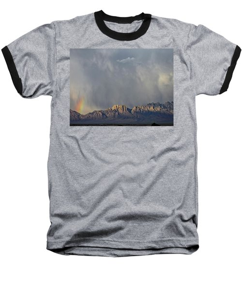 Baseball T-Shirt featuring the photograph Evening Drama Over The Organs by Kurt Van Wagner