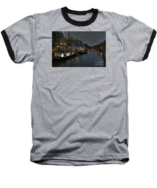 Evening In Amsterdam Baseball T-Shirt