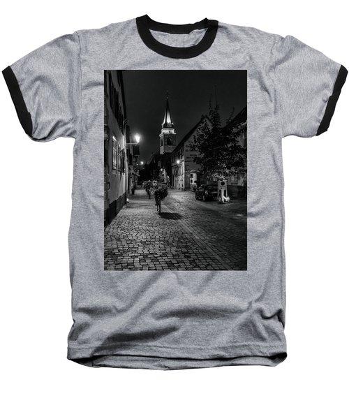 Baseball T-Shirt featuring the photograph Evening In Bergheim by Alan Toepfer