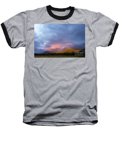 Baseball T-Shirt featuring the photograph Evening In Cades Cove - D009913 by Daniel Dempster
