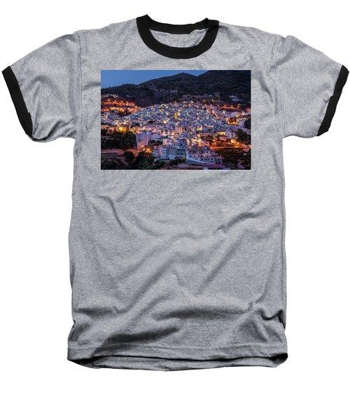 Evening In Competa Baseball T-Shirt