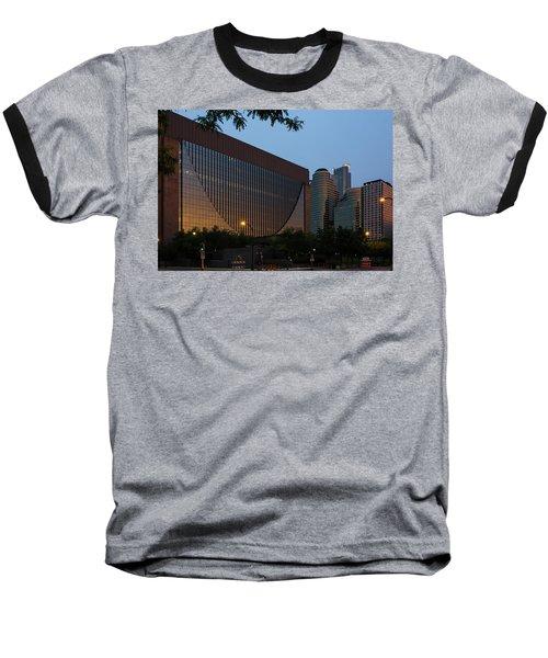 Evening In Downtown Minneapolis Baseball T-Shirt