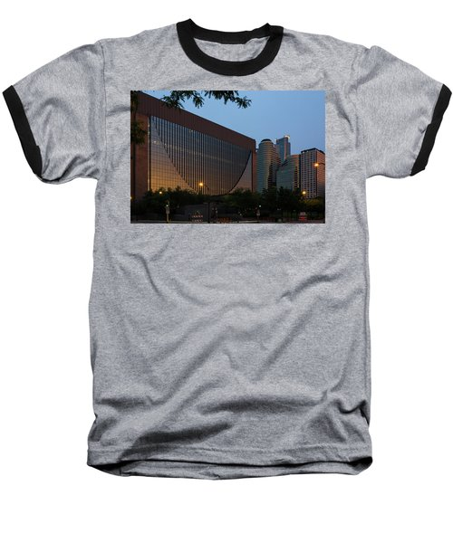 Evening In Downtown Minneapolis Baseball T-Shirt