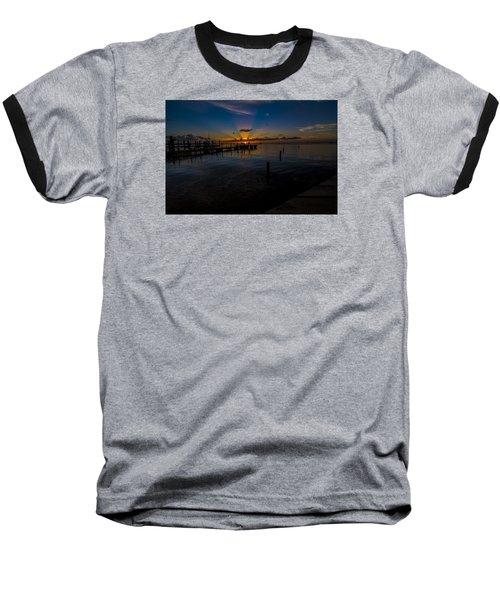 evening in Key Largo Baseball T-Shirt