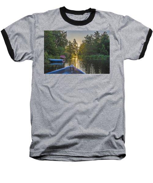 Evening In Loosdrecht Baseball T-Shirt