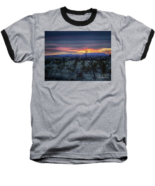 Evening In Marathon Baseball T-Shirt