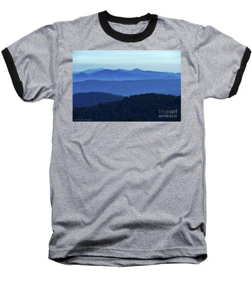 Oregon Blues  Baseball T-Shirt